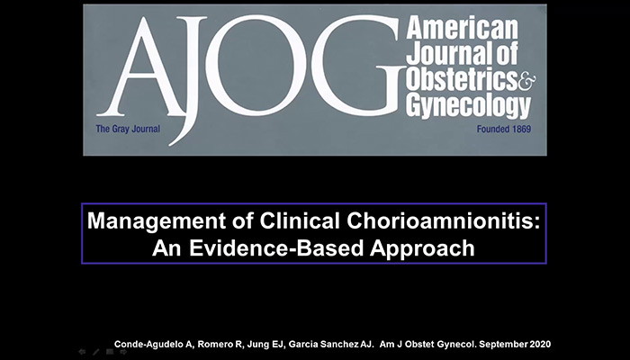 Management of Clinical Chorioamnionitis